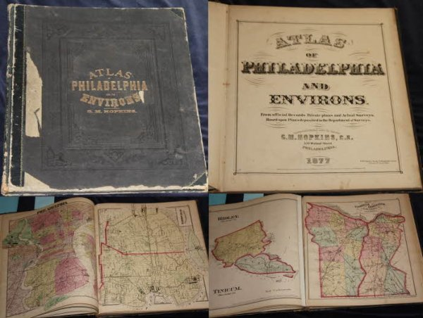 Image for ATLAS OF PHILADELPHIA AND ITS ENVIRONS [LBC]