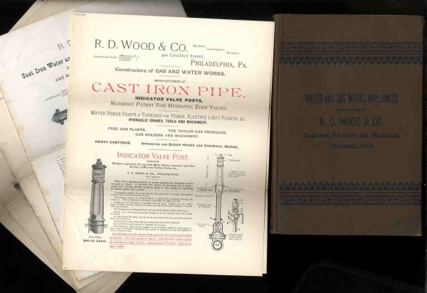 Image for Water And Gas Works Appliances Manufactured By R D Wood