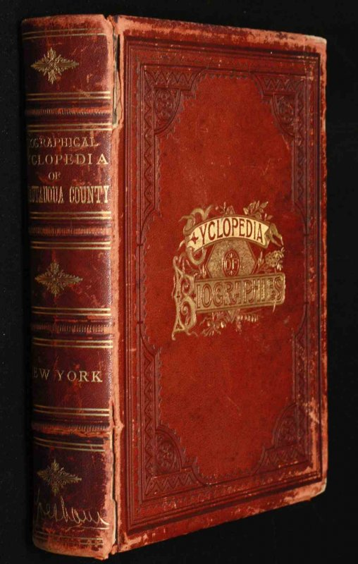 Image for Biographical And Portrait Cyclopedia Of Chautauqua County, New York