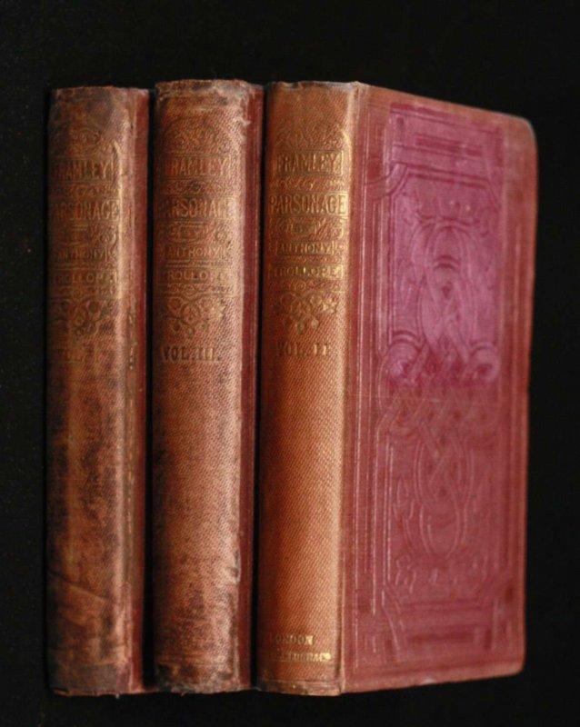 Image for Framley Parsonage- 3 Volumes Complete 1st Ed In Original Cloth Triple Decker
