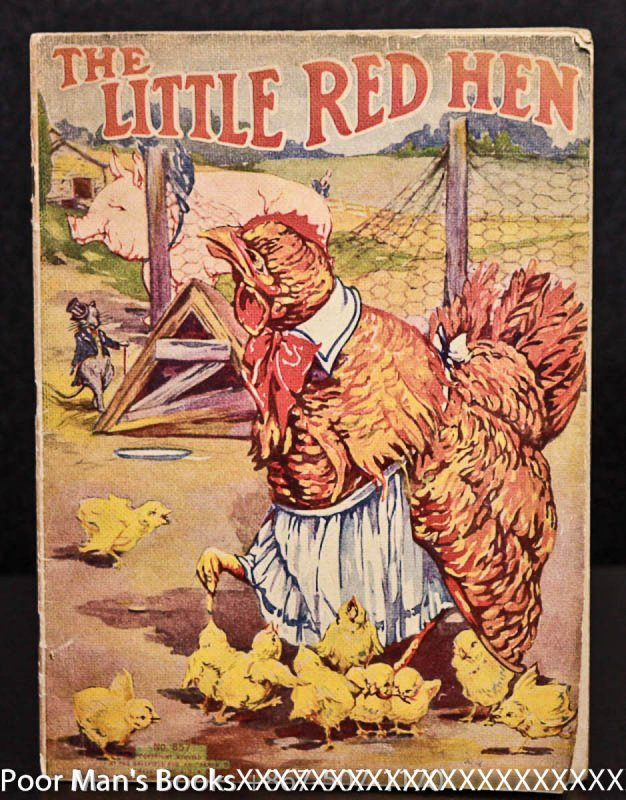 Image for LITTLE RED HEN [WITH LITTLE BLACK SAMBO AND WEE PETER PUG]