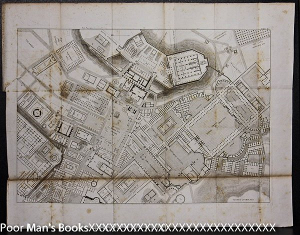 "Image for LARGE 18TH CENTURY PLAN , ROME ITALY 23 X 30"" [Lbc]"