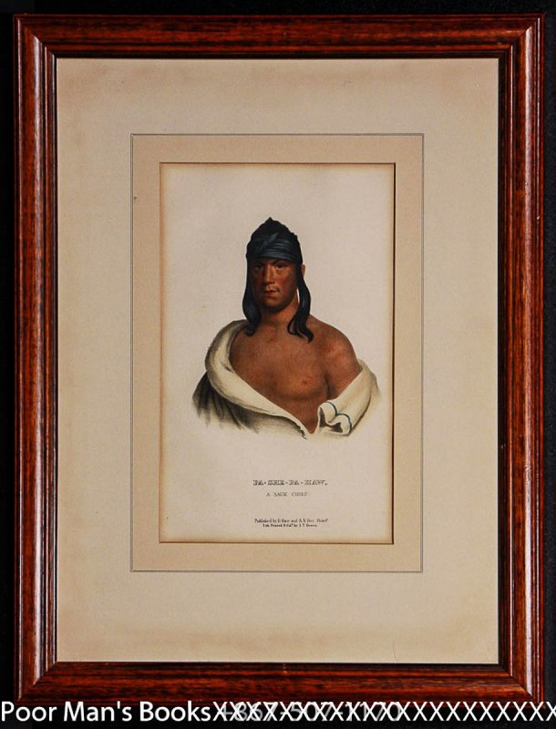 Image for PA-SHE-PA-HAW, A SAUK CHIEF 10 X 7IN Indian Tribes [Lbc]
