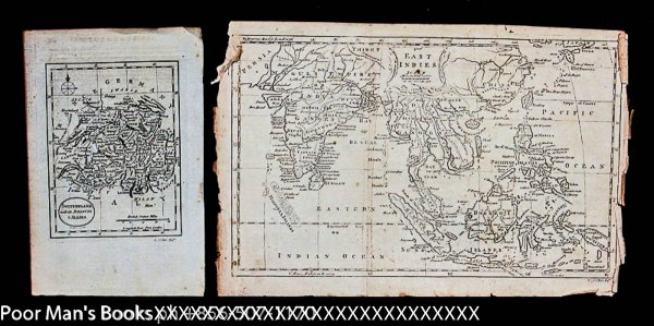 Image for LOT OF 10 DIFFERENT 18TH CENTURY COPPER ENGRAVED UNCOLORED MAPS INCL TURKEY IN EUROPE