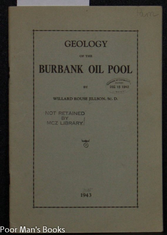 Image for GEOLOGY OF THE BURBANK OIL POOL IN HENDERSON COUNTY, KENTUCKY