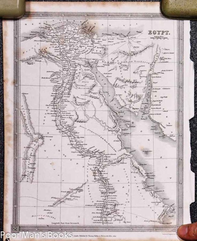 Image for 10.5 X 8.5IN MAP OF EGYPT 1841 [Lbc]