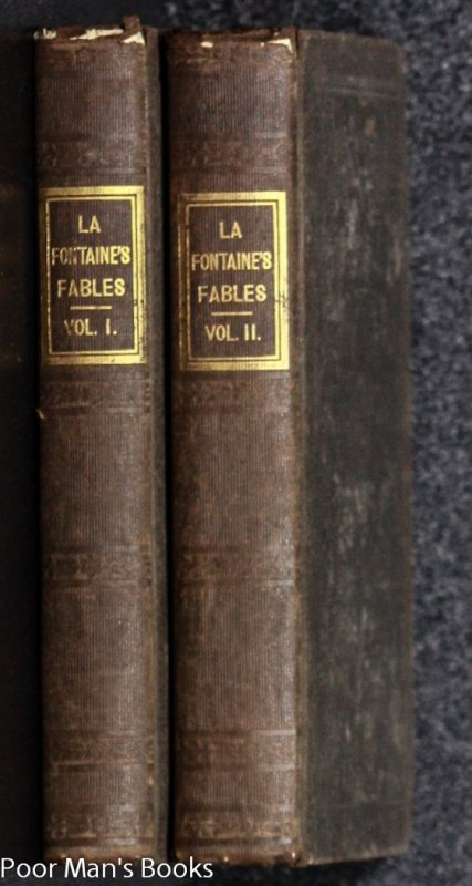 Image for FABLES OF LA FOUNTAINE, TRANSLATED FROM THE FRENCH [ 2 VOLS ILLUSTRATED]35204