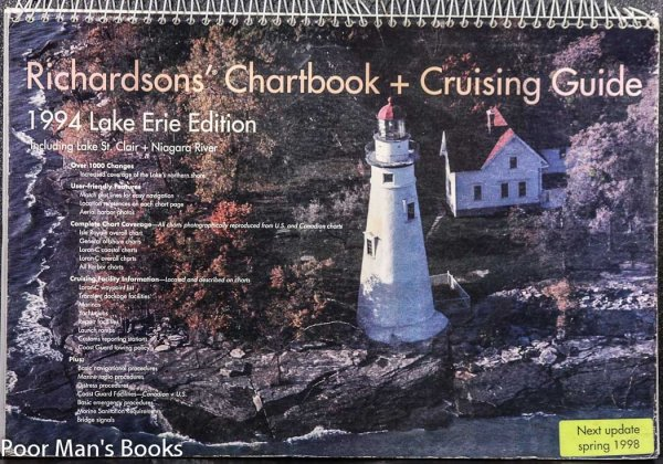 Image for Richardson's Chartbook + Cruising Guide, 1994 Lake Erie Edition