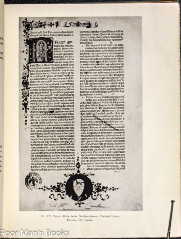 Image for THE BOOK IN ITALY DURING THE FIFTEENTH AND SIXTEENTH CENTURIES SHOWN IN FACSIMILE REPRODUCTIONS OF THE MOST FAMOUS VOLUMES