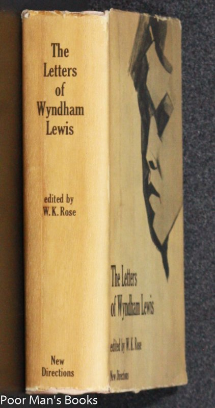 Image for LETTERS OF WYNDHAM LEWIS 1ST EDITION