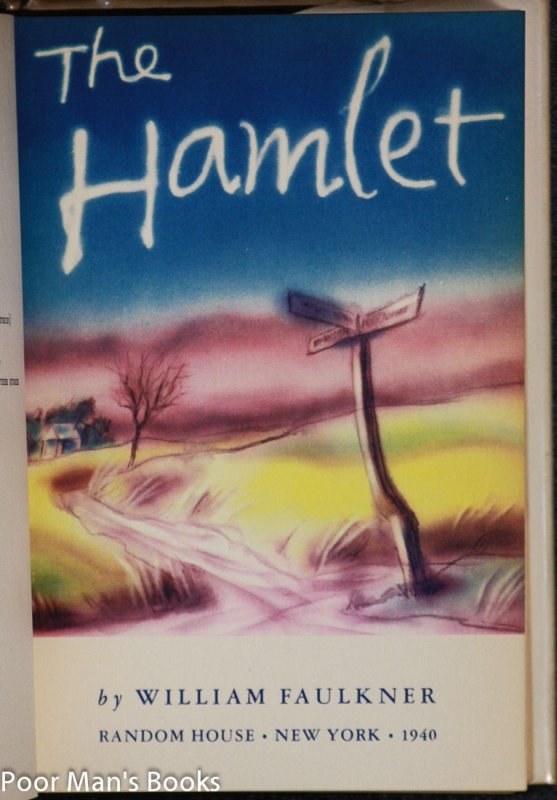 Image for Faulkner's Snopes Trilogy: Hamlet, Town, Mansion. [ct Firsts In Djs]
