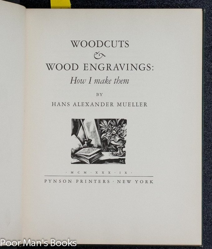 Image for WOODCUTS AND WOOD ENGRAVINGS: HOW I MAKE THEM