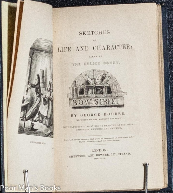 Image for SKETCHES OF LIFE AND CHARACTER: TAKEN AT THE POLICE COURT, BOW STREET.