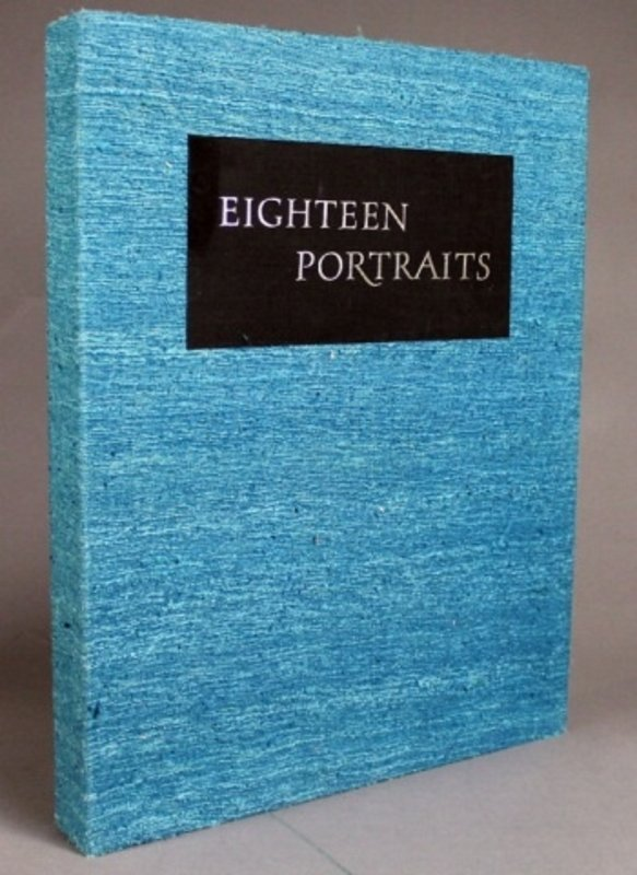 Image for EIGHTEEN PORTRAITS. ORIGINAL LITHOGRAPHS BY MAURICE GROSSER