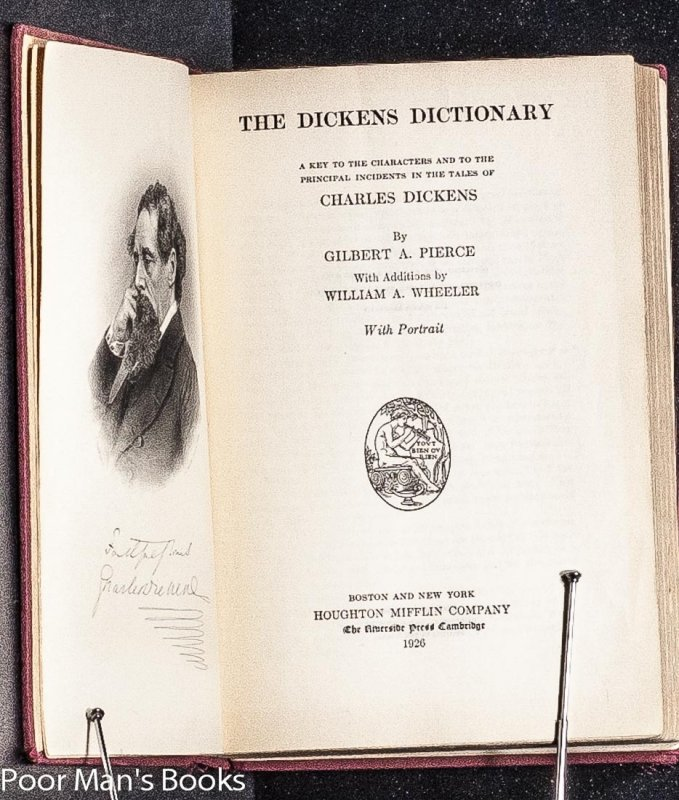 Image for THE DICKENS DICTIONARY.