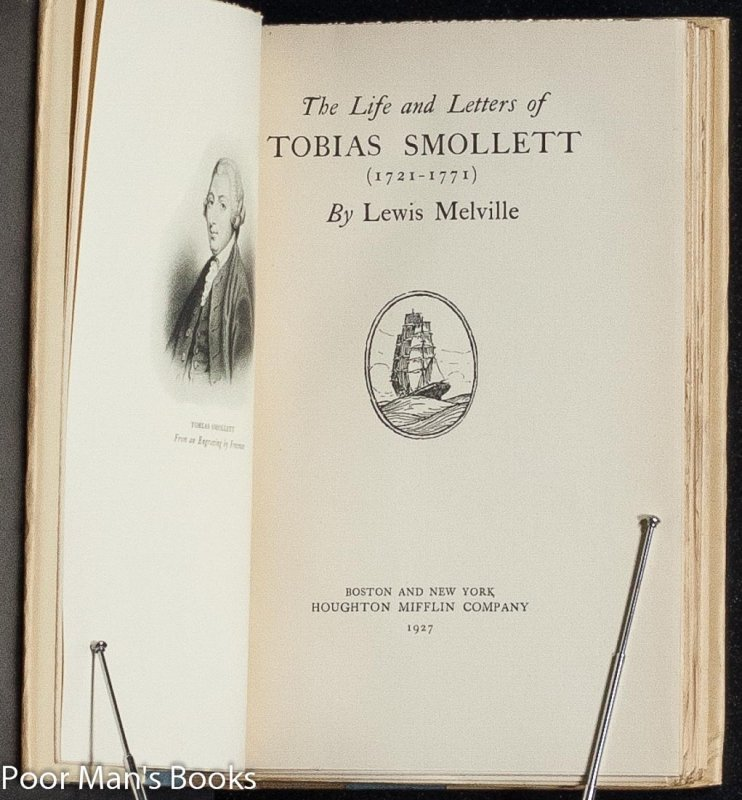 Image for THE LIFE AND LETTERS OF TOBIAS SMOLLETT.