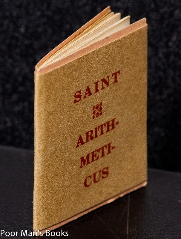Image for SAINT ARITHMETICUS [MINIATURE BOOK]