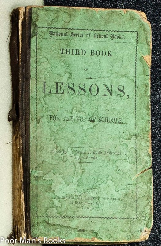 Image for THIRD BOOK OF LESSONS : FOR THE USE OF SCHOOLS.