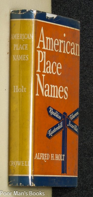 Image for American Place Names