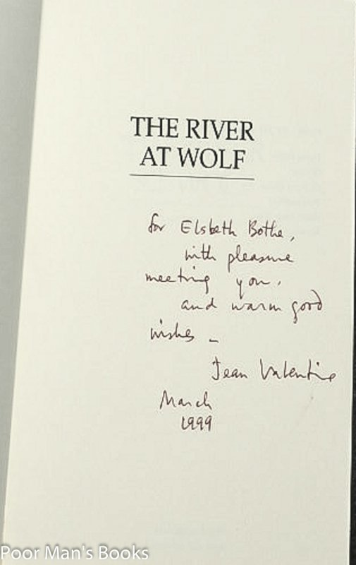 Image for THE RIVER AT WOLF [SIGNED]