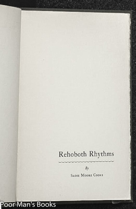 Image for REHOBOTH RHYTHMS [SIGNED]