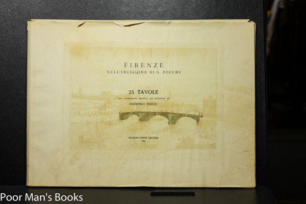 Image for FIRENZE NELL' INCISIONE DI G. ZOCCHI. Werwer