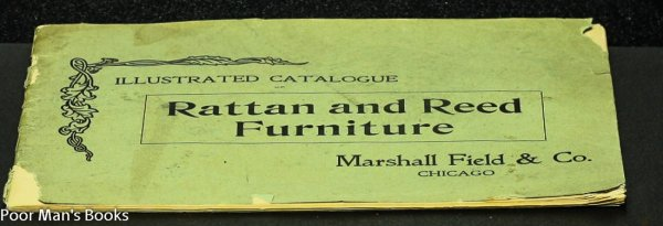 Image for ILLUSTRATED CATALOGUE OF RATTAN AND REED FURNITURE