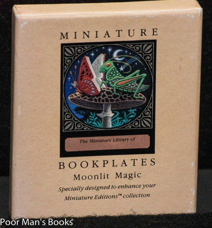 Image for MINIATURE BOOKPLATES: MOONLIT MAGIC