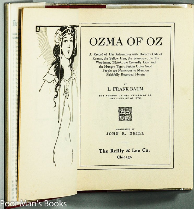 Image for OZMA OF OZ