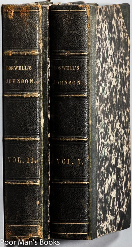 Image for THE LIFE OF SAMUEL JOHNSON, LL.D. COMPREHENDING AN ACCOUNT OF HIS STUDIES... [2 OF 3 VOLS]