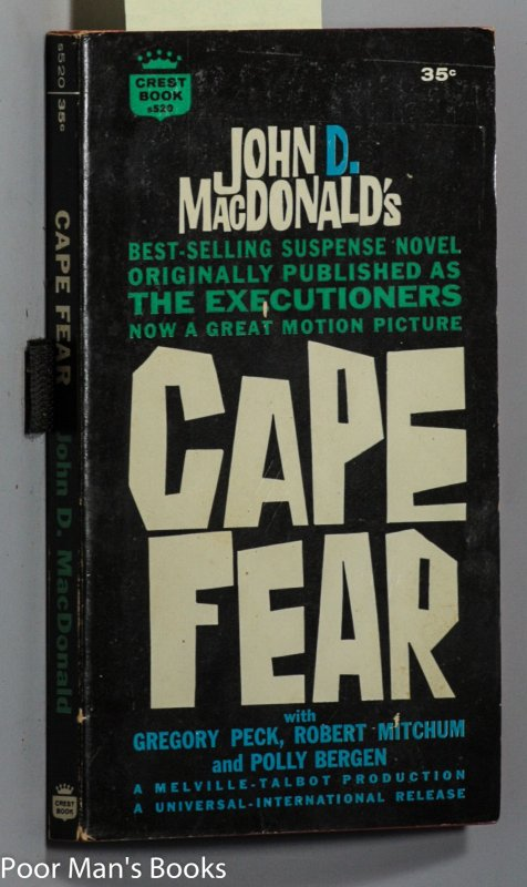 Image for CAPE FEAR [1962 AUTHOR SIGNED ]