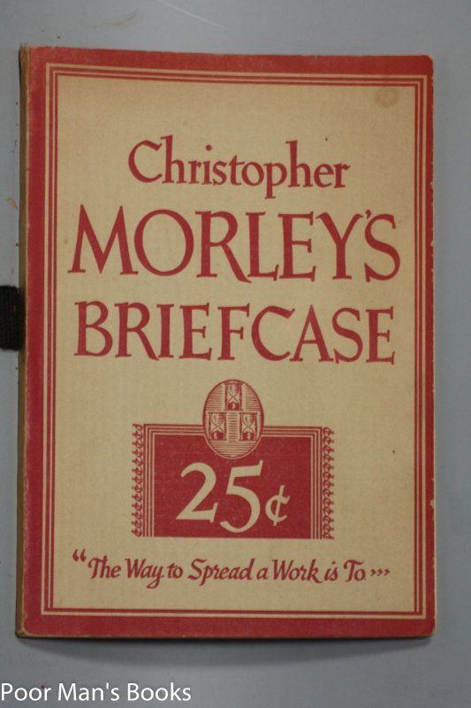 Image for CHRISTOPHER MORLEY'S BRIEFCASE