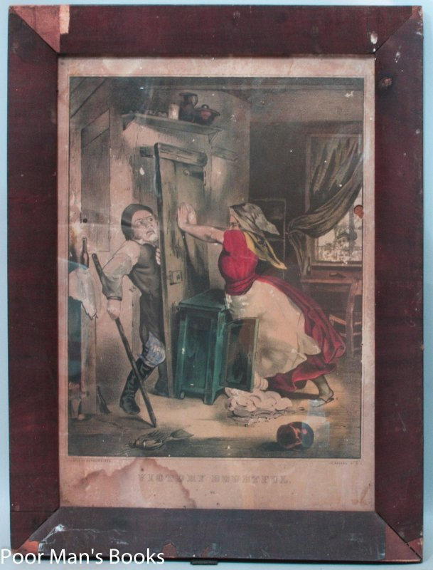 "Image for LITHOGRAPH IN ORIGINAL FRAME, ""VICTORY DOUBTFUL"""