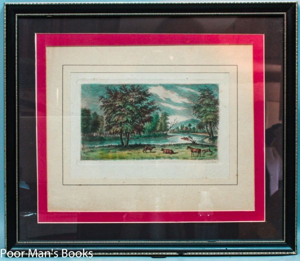 Image for FRAMED HAND-COLORED ENGRAVING OF THE SCHUYLKILL VALLEY BY AUGUSTUS KOLLNER,