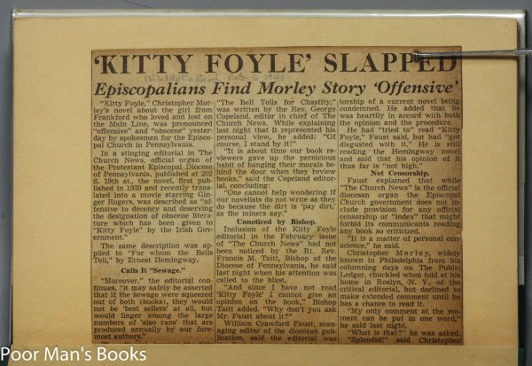 Image for KITTY FOYLE [SIGNED LETTER]