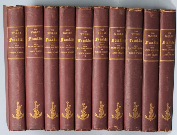Image for The Works Of Benjamin Franklin [10 Volumes Complete]