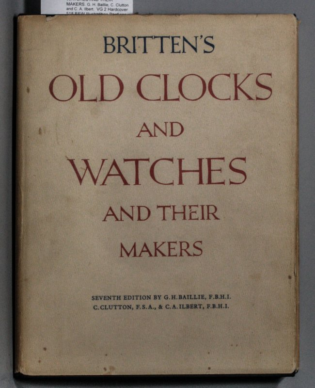 Image for OLD CLOCKS AND WATCHES AND THEIR MAKERS.