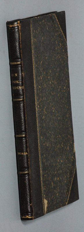 Image for ON BOOKBINDINGS, ANCIENT AND MODERN : ABRIDGED FROM THE WORK EDITED BY JOSEPH CUNDALL.