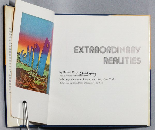 Image for EXTRAORDINARY REALITIES [SIGNED]