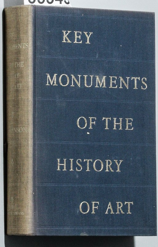 Image for KEY MONUMENTS IN THE HISTORY OF ART, A VISUAL SURVEY