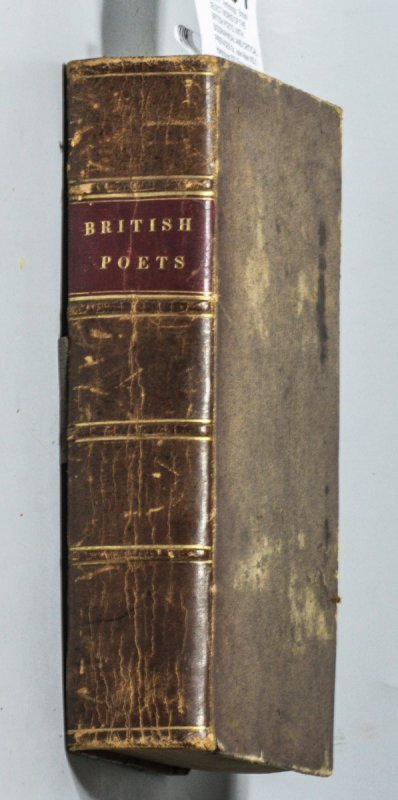 Image for SELECT WORKS OF THE BRITISH POETS, WITH BIOGRAPHICAL AND CRITICAL PREFACES