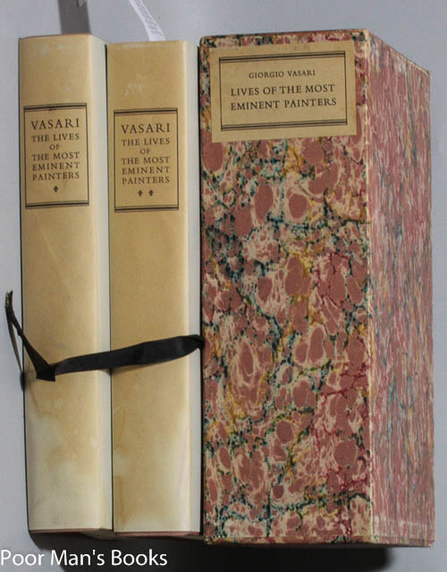 Image for LIVES OF THE MOST EMINENT PAINTERS [TWO VOLUMES IN SLIPCASE, SIGNED]