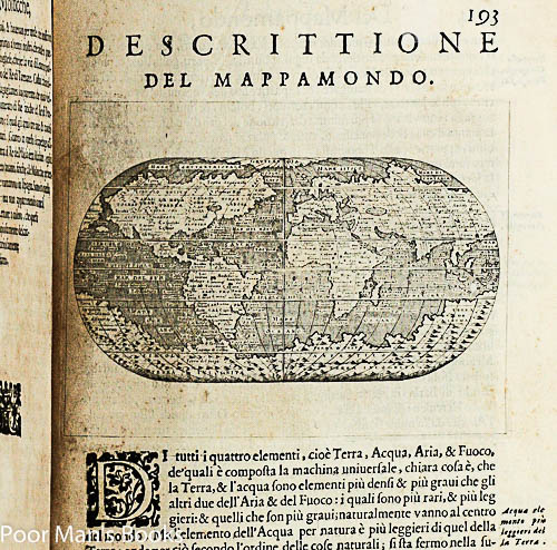 Image for L'isole Piu Famose Del Mondo ...1st Map Of North America As An Entity