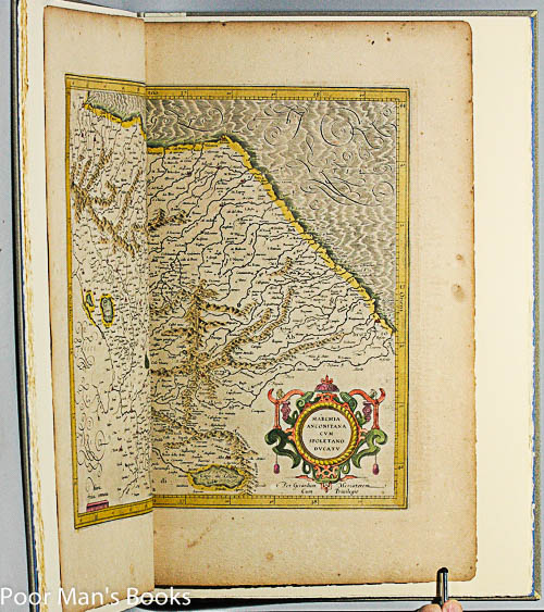 Image for A LEAF FROM THE MERCATOR-HONDIUS WORLD ATLAS ... OF 1619. [ITALY]