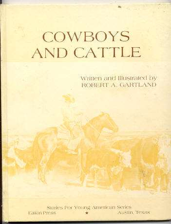 Image for COWBOYS AND CATTLE 3552-B