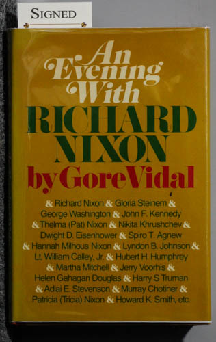 Image for AN EVENING WITH RICHARD NIXON [INCLUDES KENNEDY AND OTHERS]