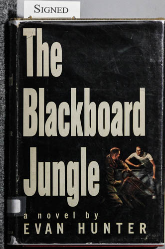 Image for THE BLACKBOARD JUNGLE [AUTHOR-SIGNED FIRST PRINTING]