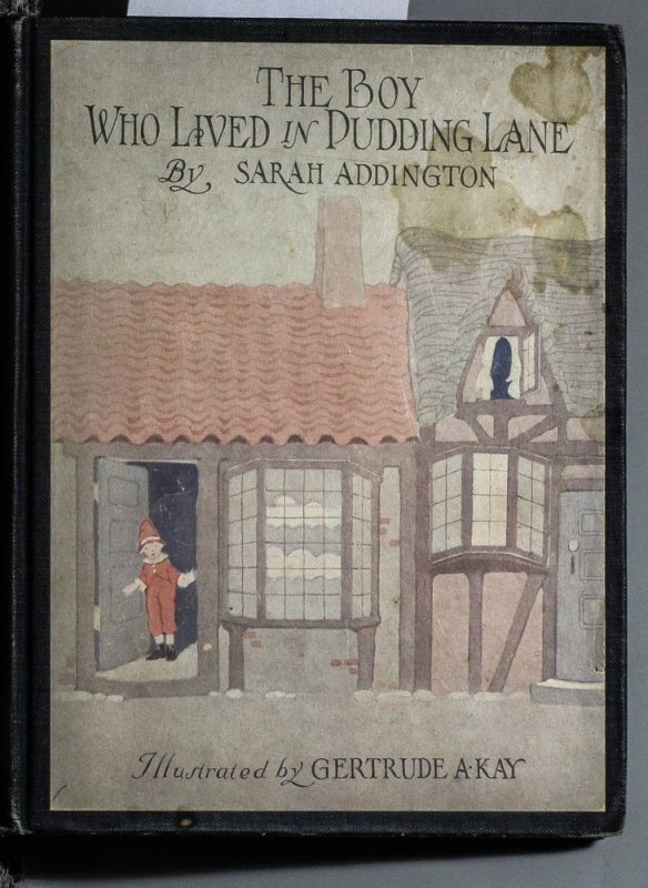 Image for THE BOY WHO LIVED IN PUDDING LANE [SANTA CLAUS]