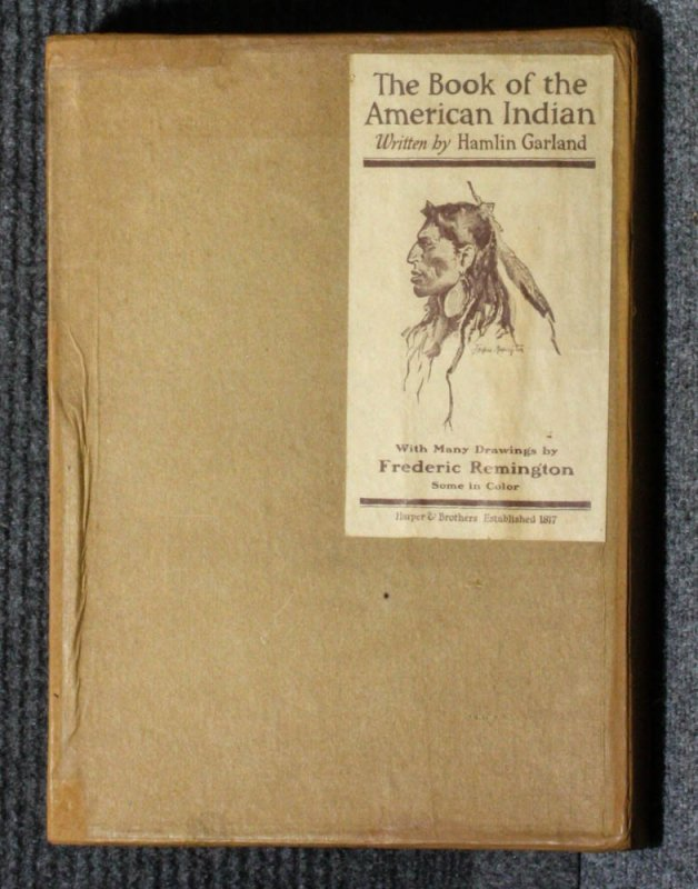 Image for THE BOOK OF THE AMERICAN INDIAN