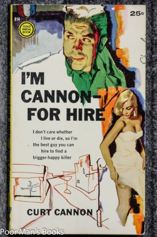 Image for I'M CANNON -- FOR HIRE